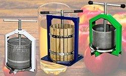 Прессы механические ручные для сока