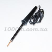Паяльник 25 wt с чёрной пластмассовой ручкой