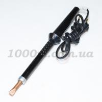 Паяльник 65 wt с чёрной пластмассовой ручкой