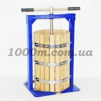 """Пресс для сока механический ручной деревянный """"Вилен"""" 25 литров"""