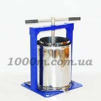 """Пресс для сока механический ручной """"Вилен"""" 20 литров"""