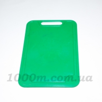 Доска разделочная пластик «Прямоугольник» 19x29 см фото