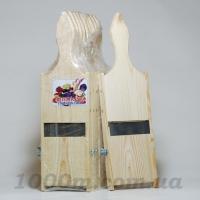 Шинковка узкая деревянная сосна