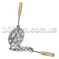 Форма для выпечки печенья «Орешки» 12 шт с деревянной ручкой