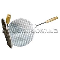 Форма для выпечки вафель круглая с деревянными ручками фото