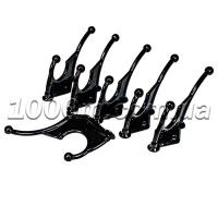 Крючки для одежды чёрного цвета