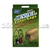 Мешки для пылесоса одноразовые JEWEL FS 16 4шт