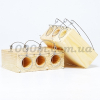 Мышеловка норка 3 деревянная