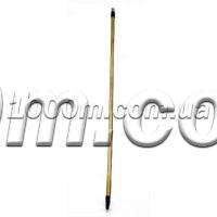 Ручка с пластмассовой резьбой для щетки