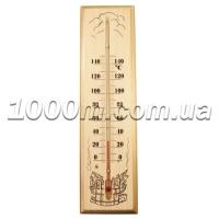 Термометр для сауны «Стеклоприбор» 30x8 фото