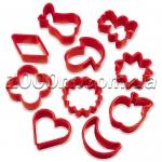 Форма для печенья пластиковая «Грибок» из 10 предметов