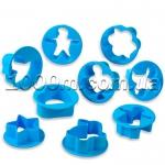Формочки для печенья «Ассорти в круге из 9 предметов»