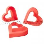Формочки для печенья пластиковые «Сердце»