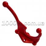 Крючки для одежды красного цвета