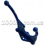 Крючки для одежды синего цвета