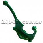 Крючки для одежды зеленого цвета