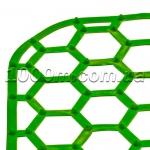 Решетка в мойку силиконовая «Сота» фото