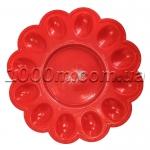 Тарелка пластиковая «Пасхальная» на 12 яиц